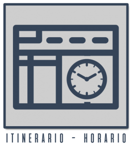 Itinerario - Horario
